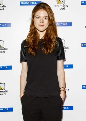 Rose Leslie - 'The Children's Monologues' Charity Event in London