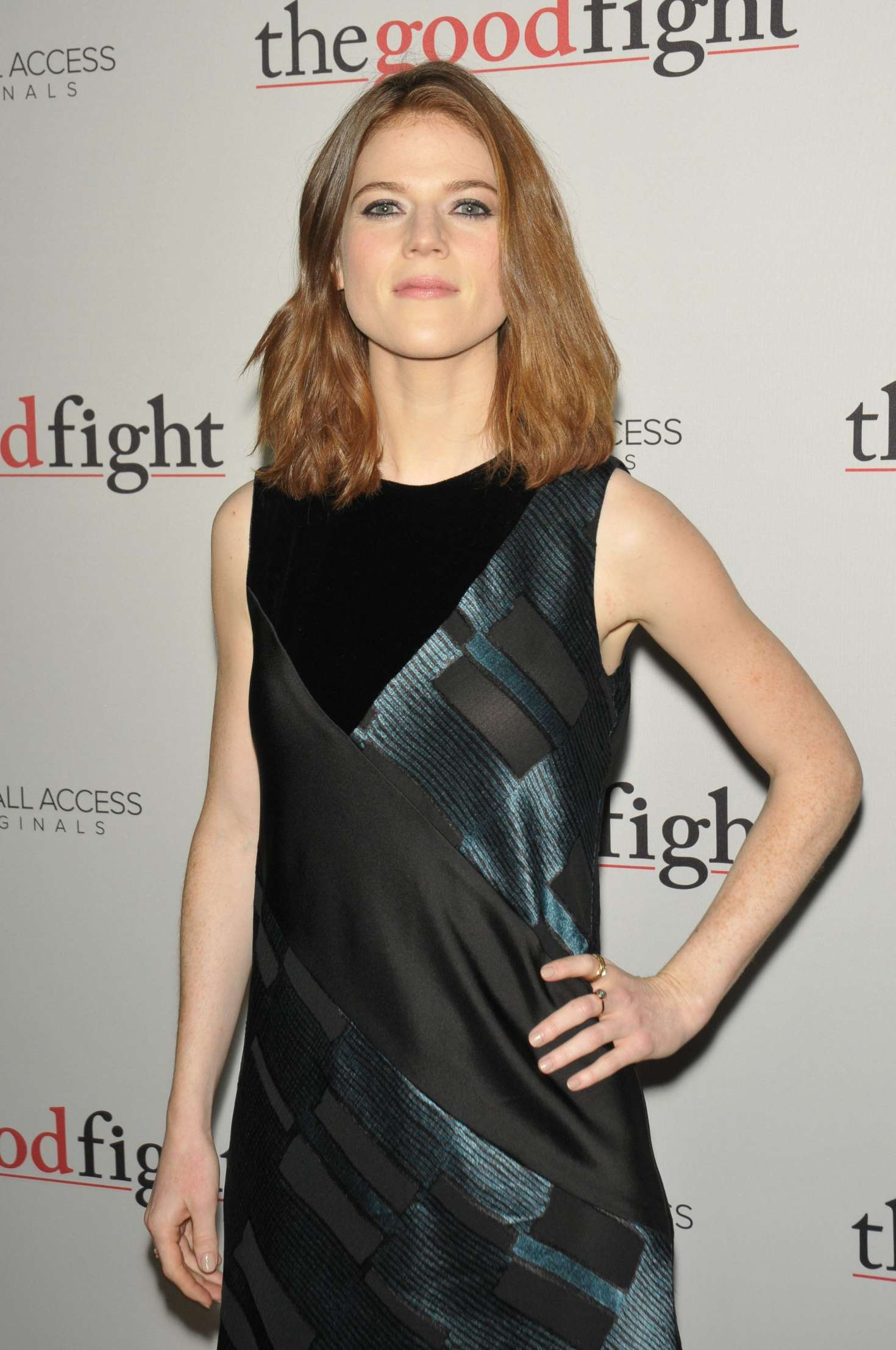 Rose Leslie - 'The Good Fight' Premiere in New York City