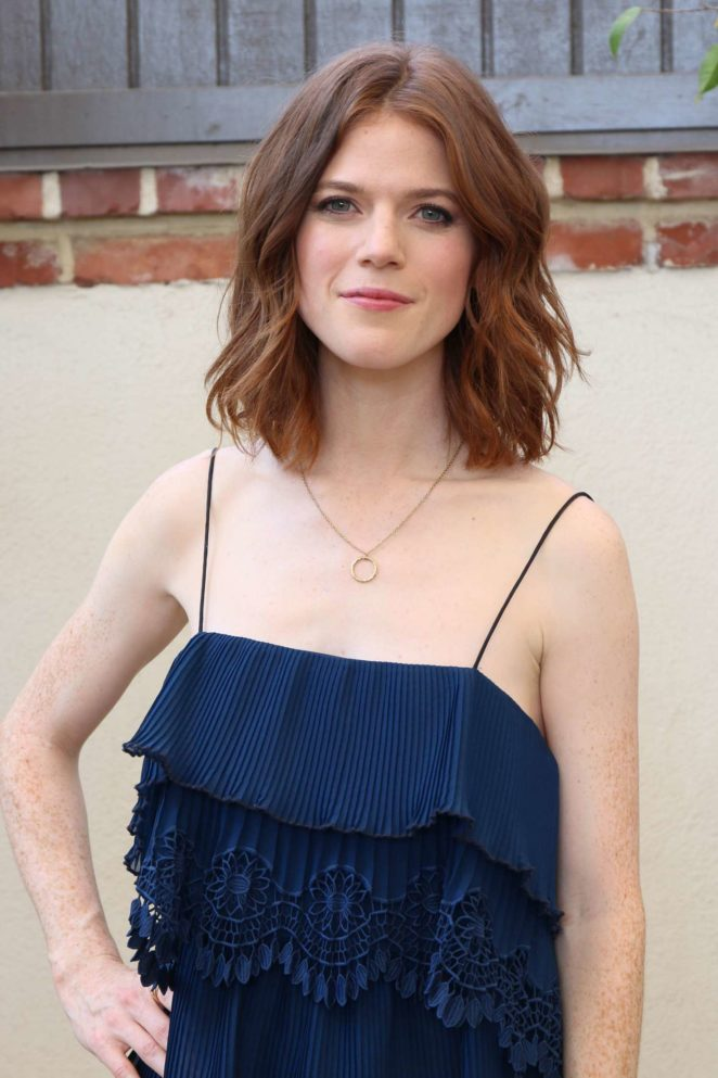 Rose Leslie - 'The Good Fight' Press Conference in West Hollywood