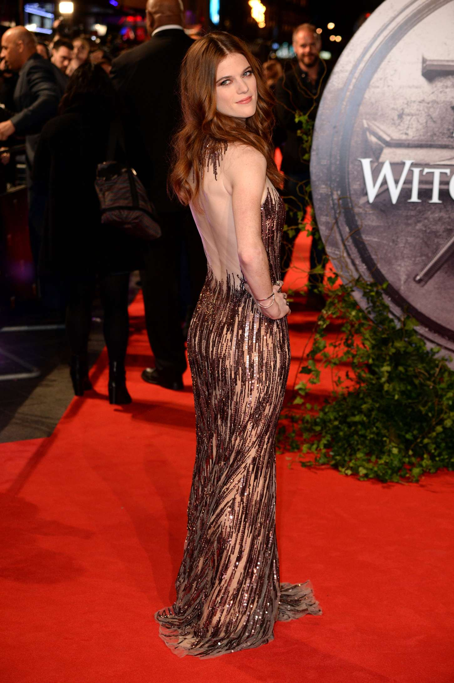 Back to post rose leslie the last witch hunter premiere in
