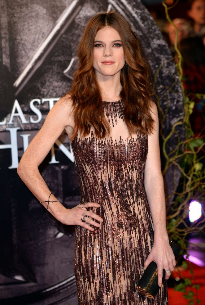 Rose Leslie - 'The Last Witch Hunter' Premiere in London
