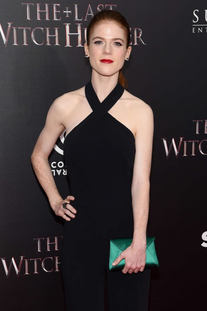 Rose Leslie - 'The Last Witch Hunter' Premiere in NYC