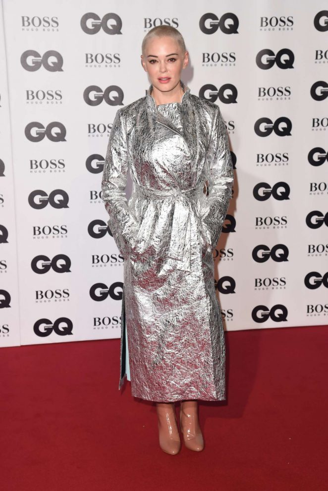 Rose McGowan - 2018 GQ Men of the Year Awards in London