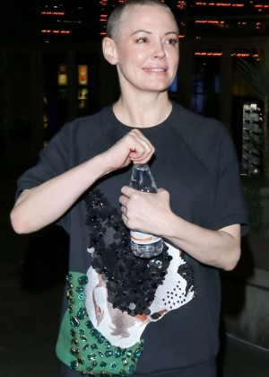 Rose Mcgowan at Arclight Theatre in Los Angeles