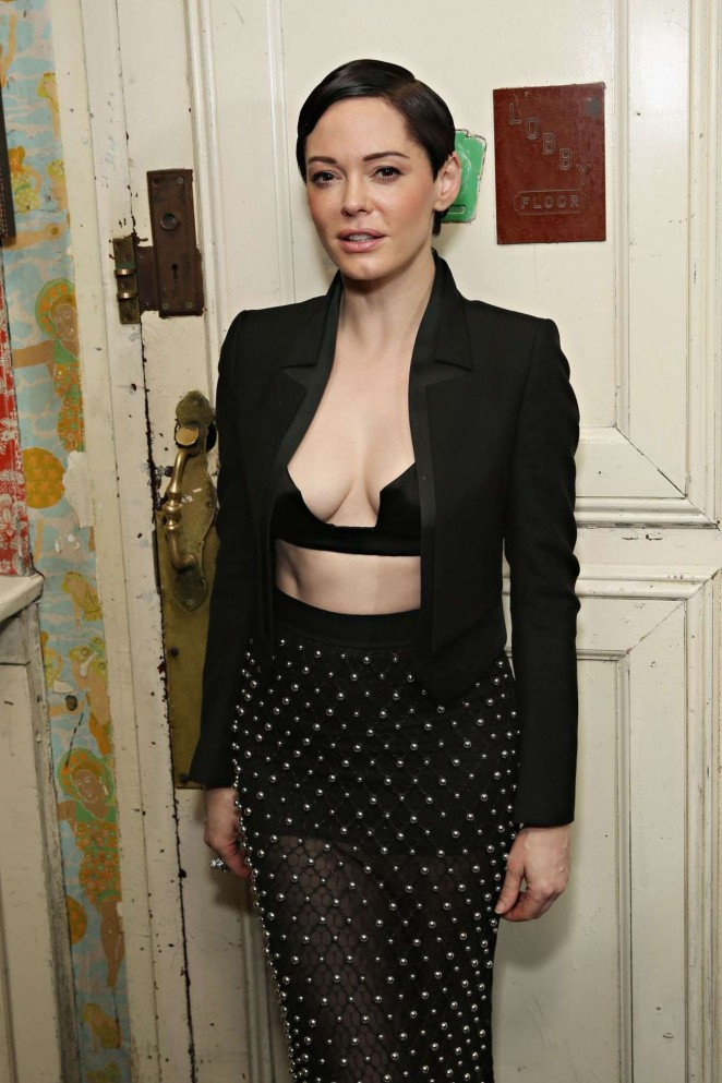 Rose McGowan - Casa Reale Fine Jewelry Launch in NYC