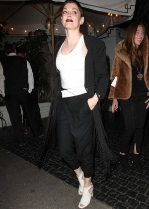 Rose McGowan - Chateau Marmont in West Hollywood