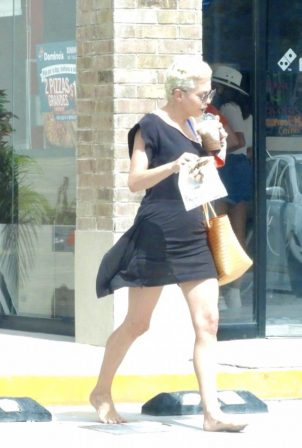 Rose McGowan - Out and about in Tulum - Mexico