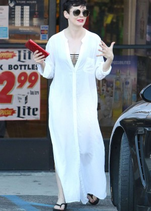 Rose Mcgowan out In West Hollywood