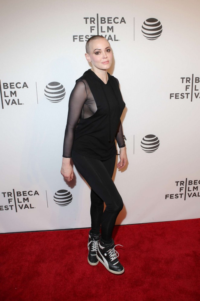 Rose McGowan - 'SHOT! The Psycho-Spiritual Mantra Of Rock' Screening at 2016 TFF in New York