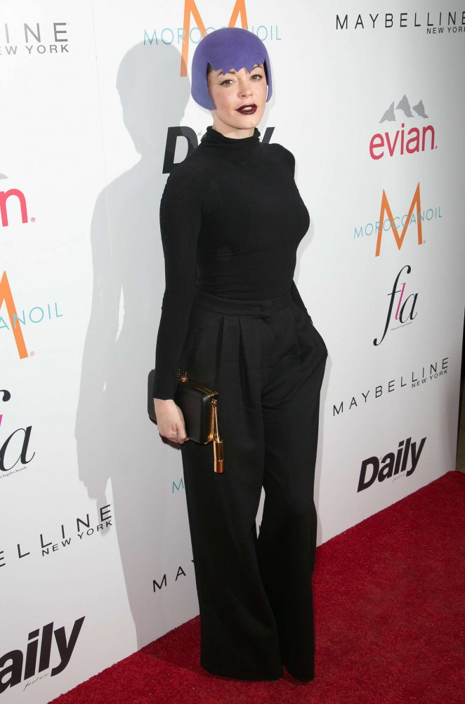 Rose MCGowan - The Daily Front Row's 1st Annual Fashion Los Angeles Awards