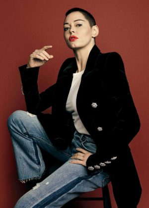 Rose McGowan - The Hollywood Reporter Magazine (May 2018)