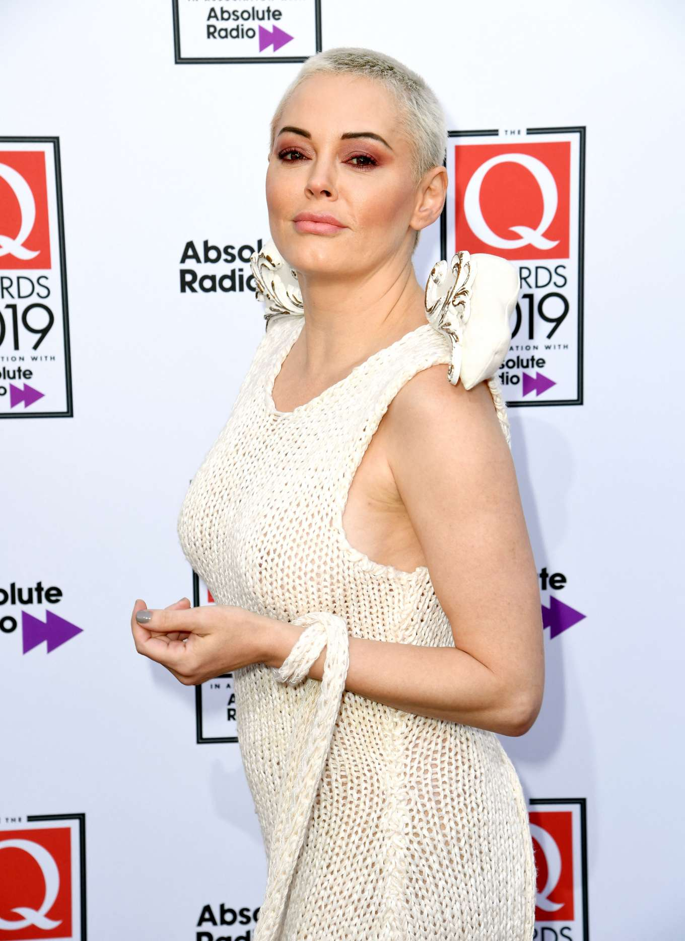 Rose McGowan - The Q Awards 2019 at The Roundhouse in London