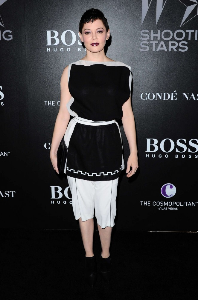Rose McGowan - W Magazine's Shooting Stars Exhibit 2015 in LA