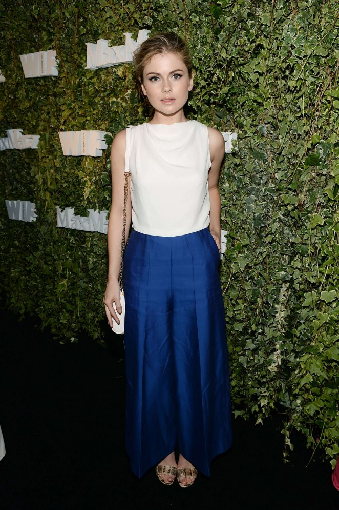 Rose McIver - 2016 Women in Film Max Mara Face of the Future Event in LA
