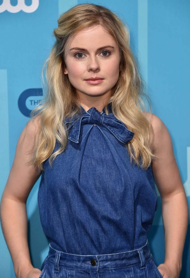 Rose McIver - 2017 CW Upfront Presentation in New York