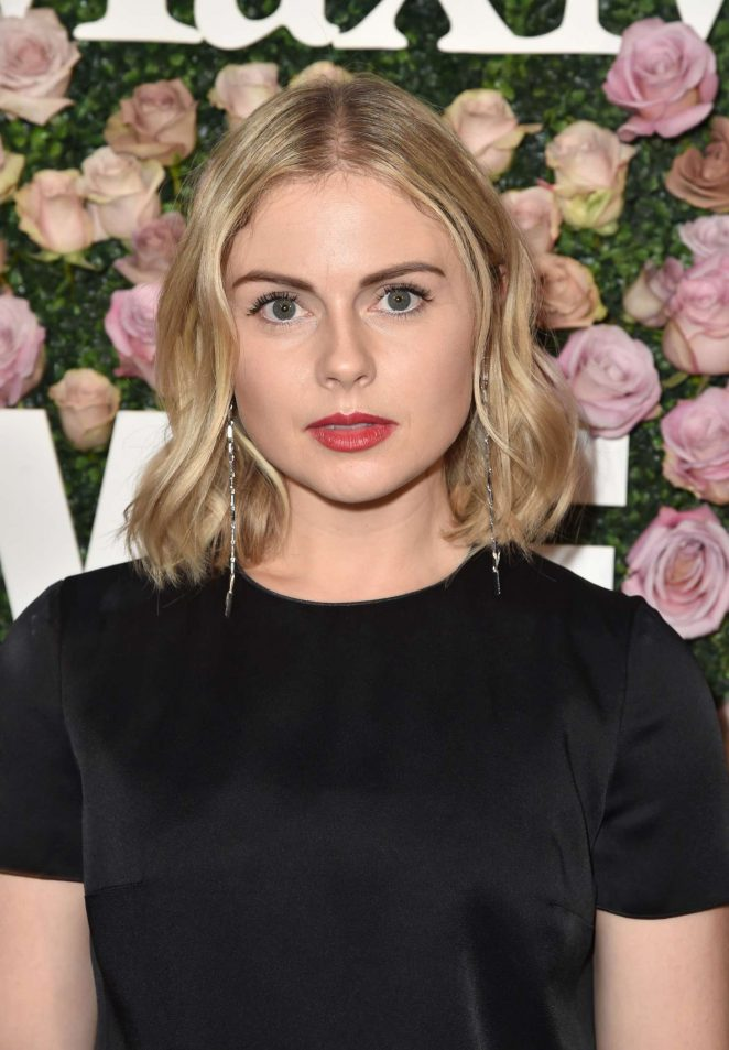 Rose McIver - 2017 Women In Film Max Mara Face of the Future Awards in LA