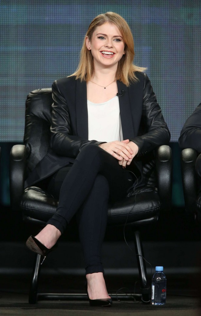 "Rose McIver - ""iZombie"" Panel TCA Press Tour in Pasadena"