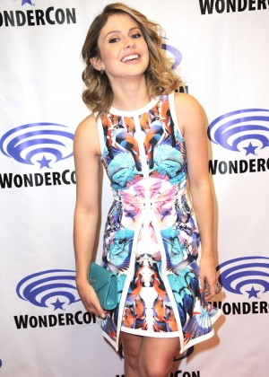 Rose McIver - 'iZombie' Press Line at WonderCon in Anaheim