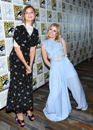 Rose McIver - iZOMBIE Special Video Presentation in San Diego at 2017 Comic-Con