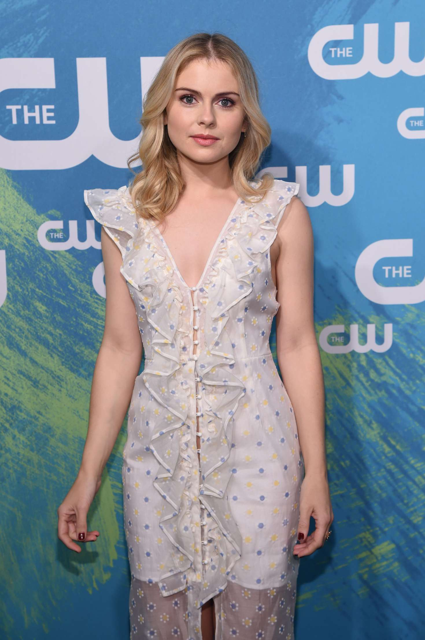 Rose McIver - The CW Upfront Presentation 2016 in New York