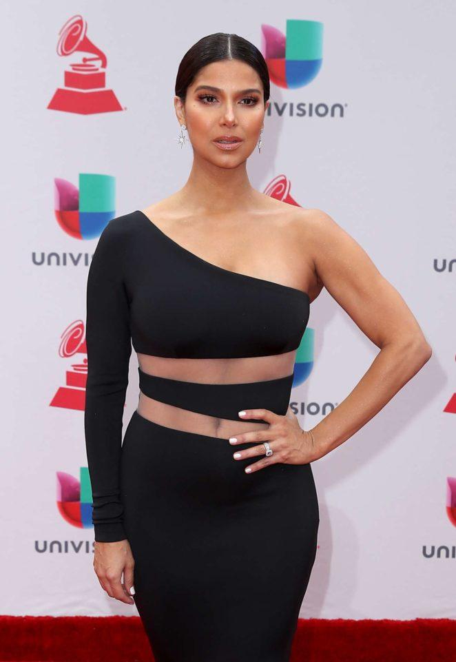 Roselyn Sanchez - 2017 Latin Grammy Awards in Las Vegas