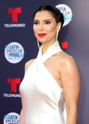 Roselyn Sanchez - 2018 Latin American Music Awards in Los Angeles