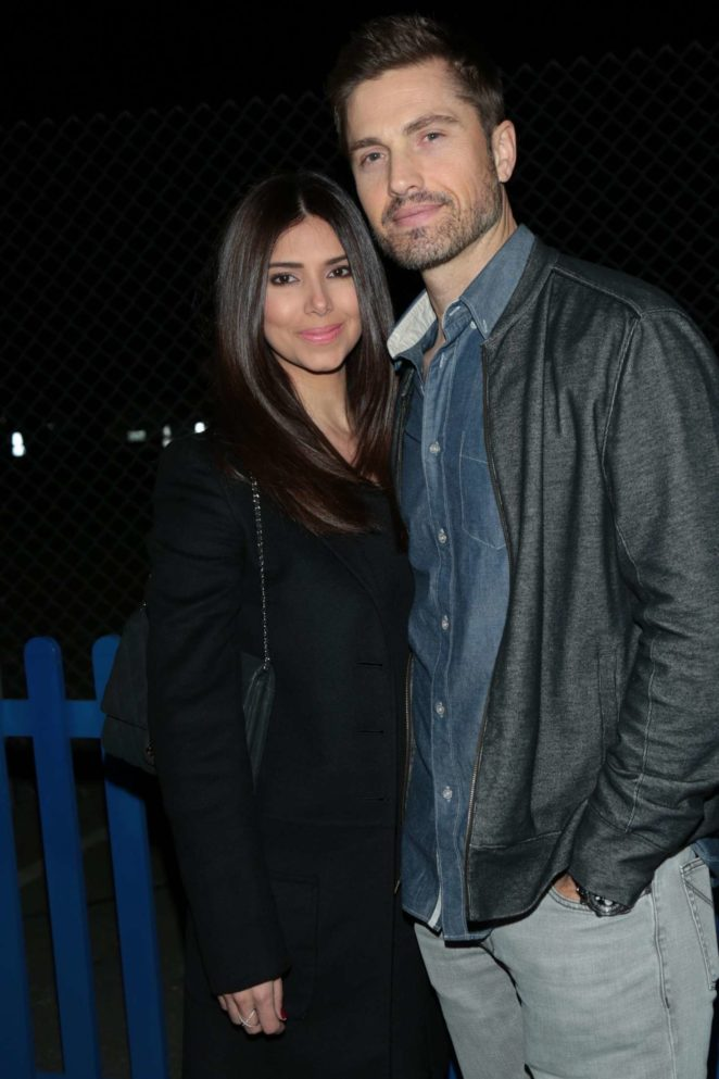 Roselyn Sanchez and Eric Winter out in Los Angeles