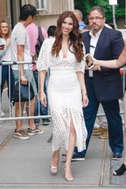 Roselyn Sanchez - Arrives at The View in New York