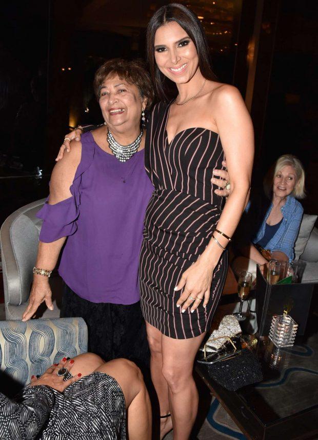 Roselyn Sanchez at the San Juan Hotel in Puerto Rico