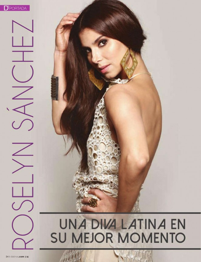 Roselyn Sanchez – D'Latinos Magazine (March 2015)