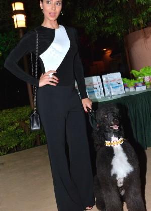 Roselyn Sanchez: Dog Fashion Show -08