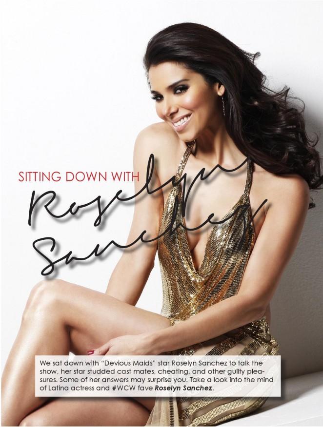 Roselyn Sanchez – Nicole Magazine (Fall 2015)