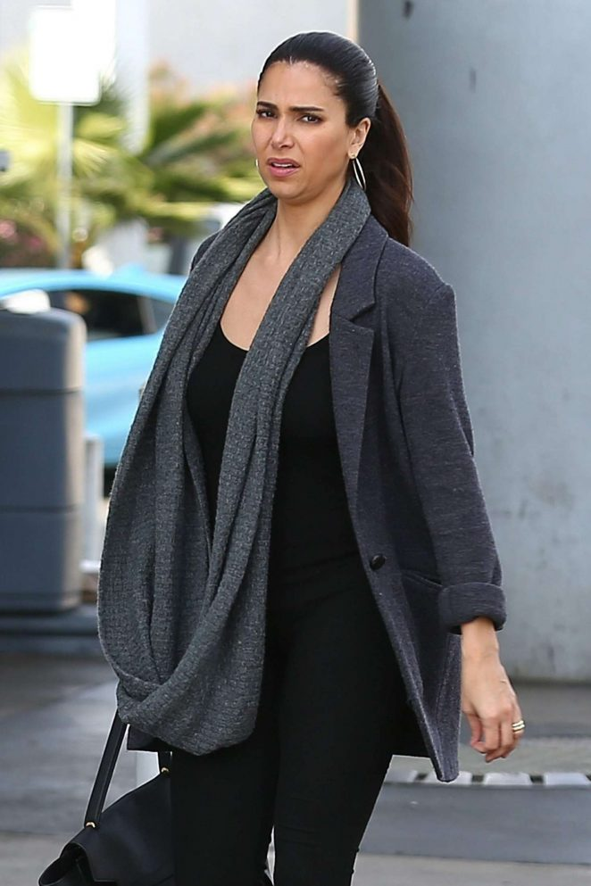 Roselyn Sanchez – Out in Studio City
