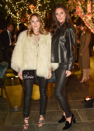 Rosie Fortescue and Lily Fortescue - Tatler's Little Black Book Party in London