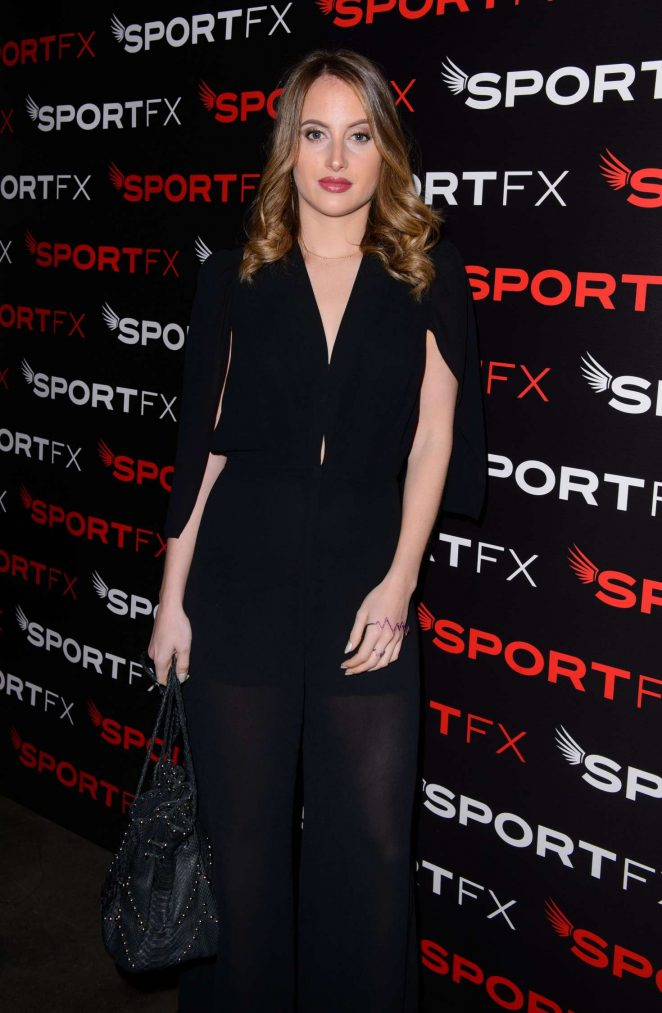 Rosie Fortescue - SPORTFX Cosmetic and Sports Launch Party in London