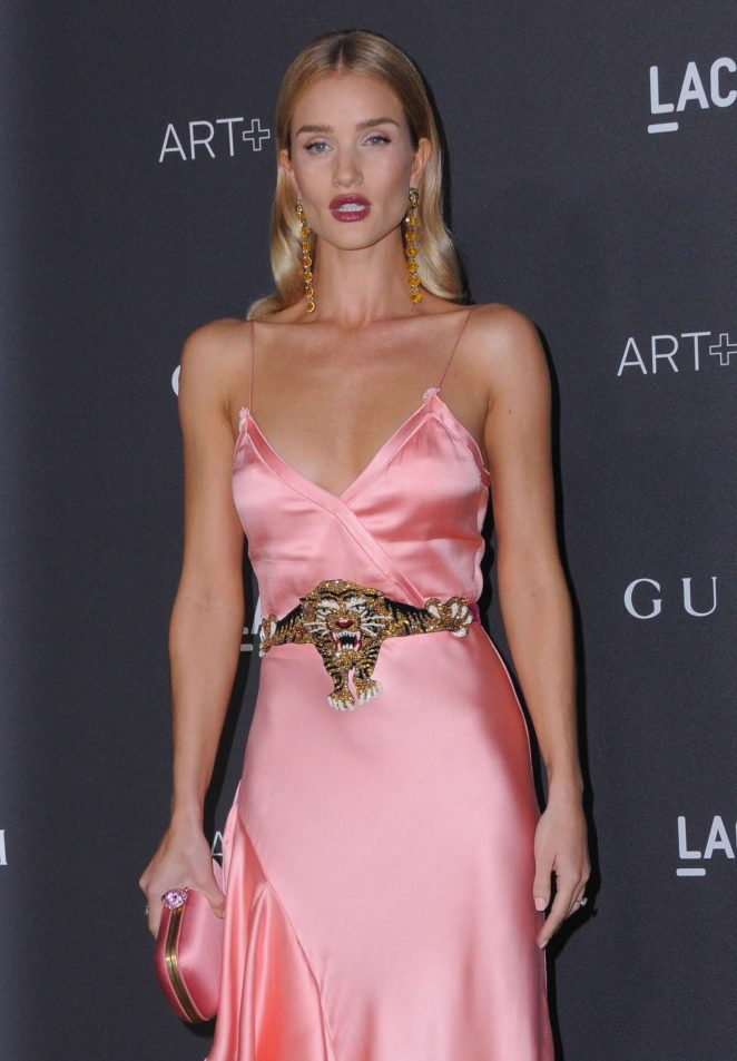 Rosie Huntington Whiteley - 2016 LACMA Art and Film Gala in Los Angeles