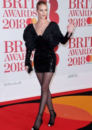 Rosie Huntington Whiteley - 2018 Brit Awards in London adds