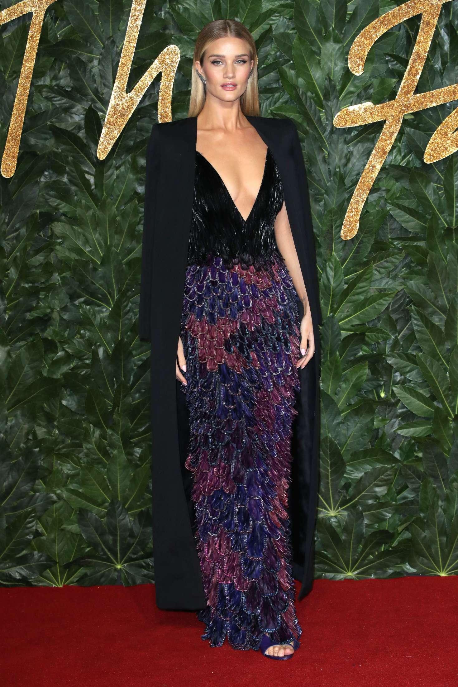 Rosie Huntington Whiteley 2018 : Rosie Huntington Whiteley: 2018 British Fashion Awards -04