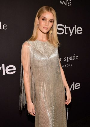 Rosie Huntington Whiteley - 2018 InStyle Awards in Los Angeles