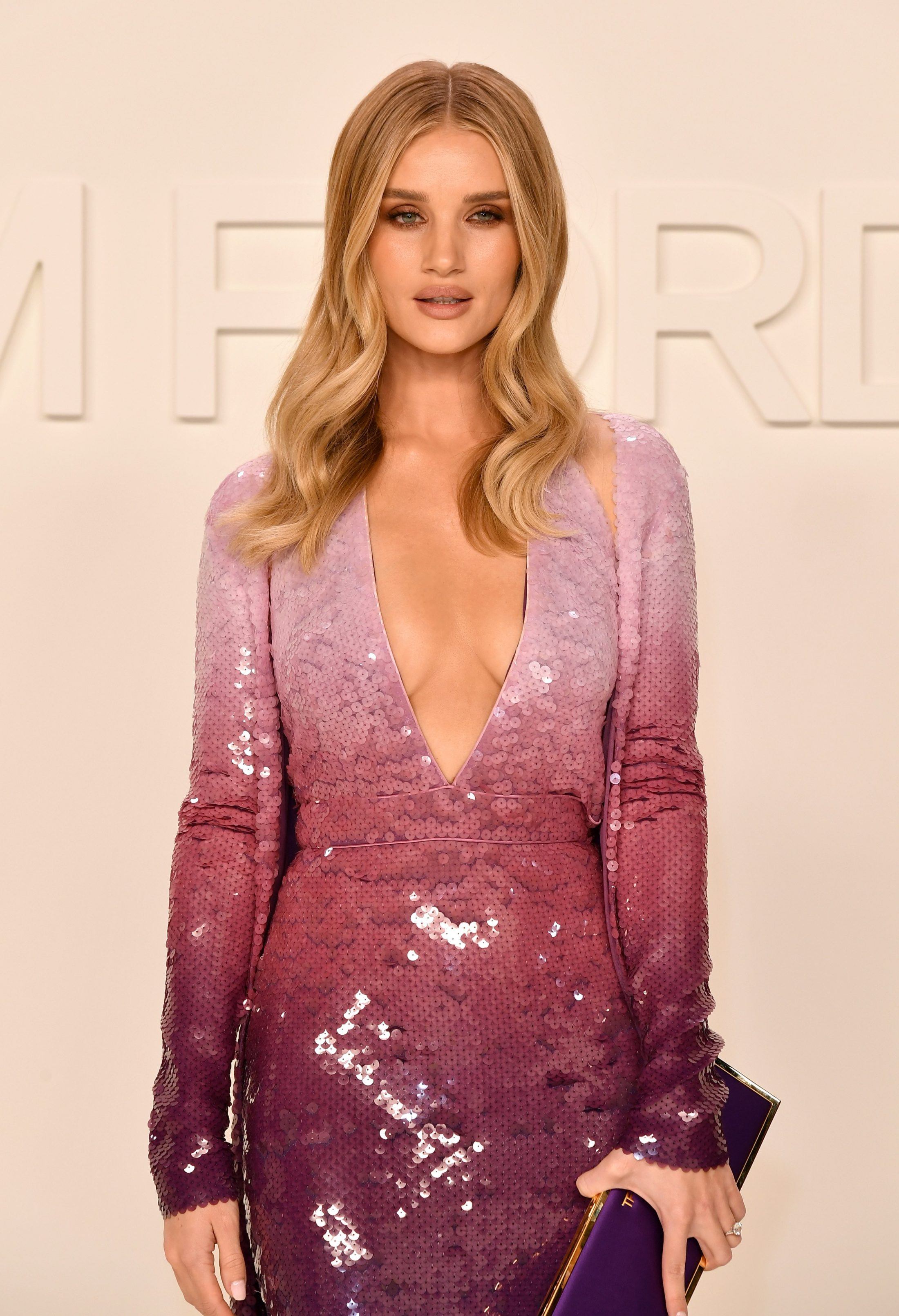 Rosie Huntington-Whiteley - 2020 Tom Ford AW20 Show in Hollywood