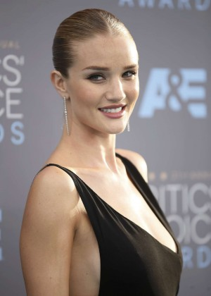 Rosie Huntington Whiteley - 2016 Critics Choice Awards in Santa Monica