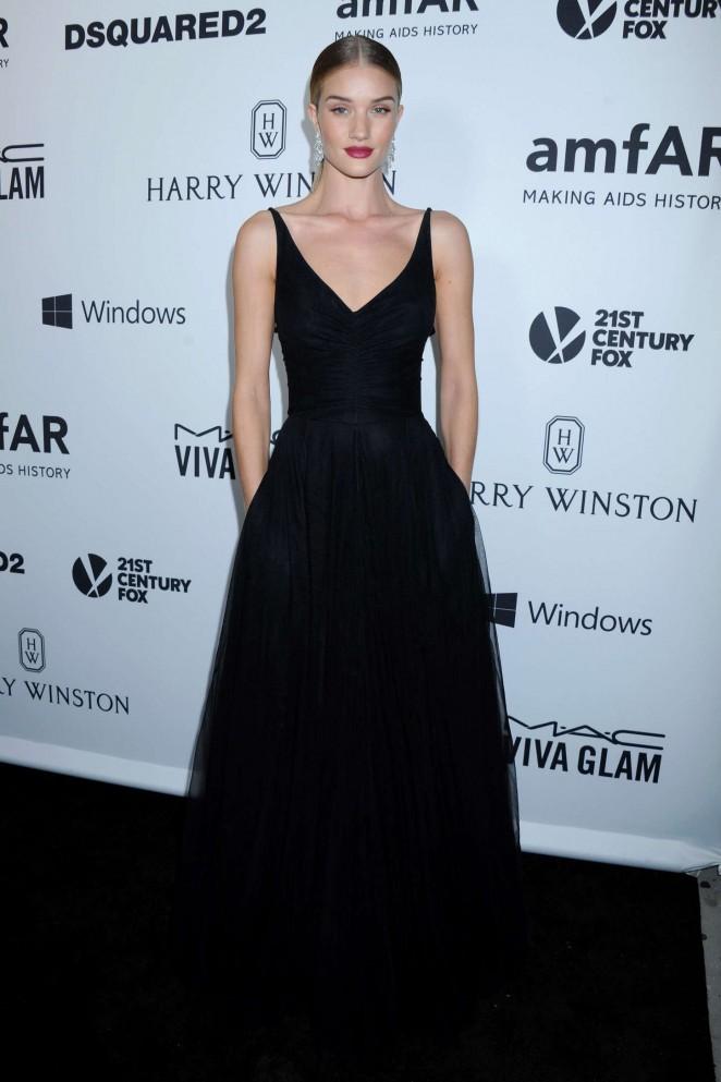 Rosie Huntington Whiteley – amfAR's Inspiration Gala Los Angeles in Hollywood