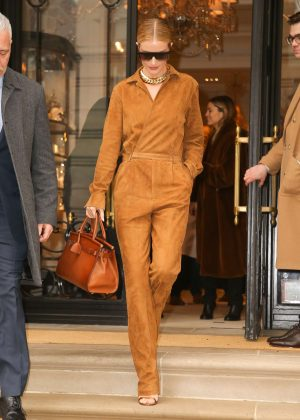 Rosie Huntington Whiteley - Arrives to the Greenwich Hotel in NY