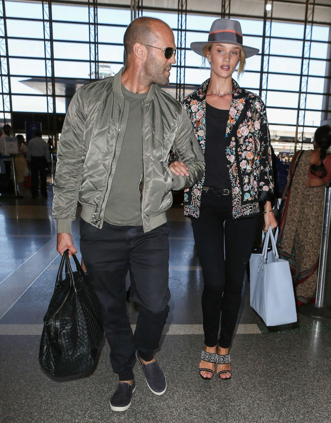 Rosie Huntington Whiteley at LAX -08