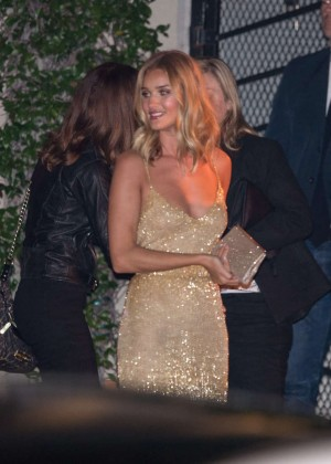 Rosie Huntington Whiteley at Sunset Tower Hotel in West Hollywood