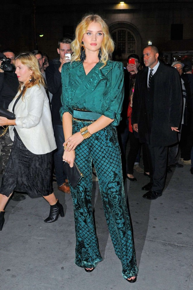 Rosie Huntington Whiteley: Balmain x HM Collection Launch ...