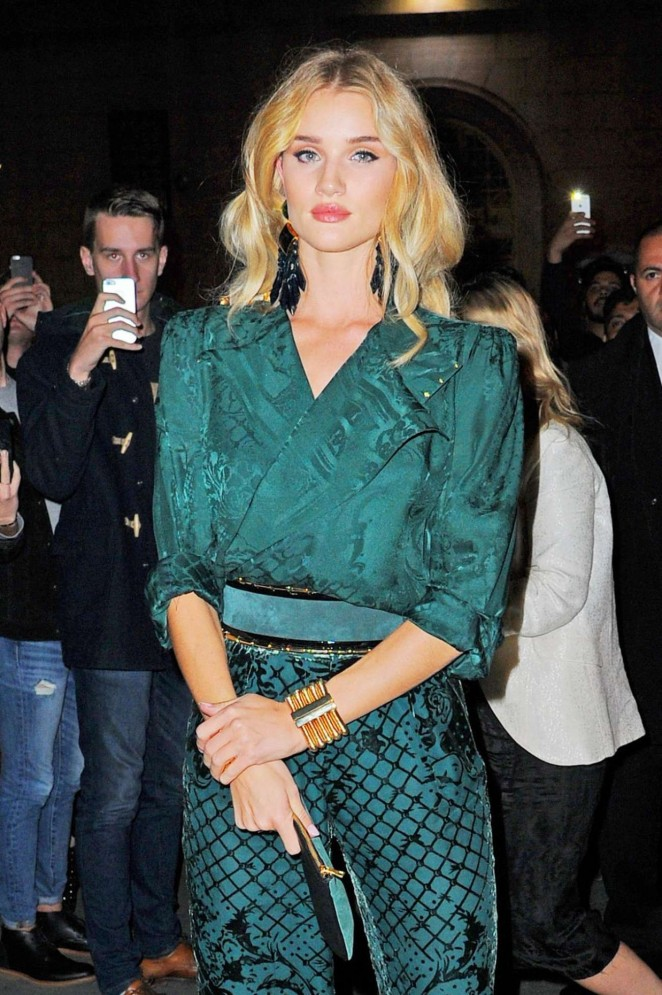 Rosie Huntington Whiteley – Balmain x H&M Collection Launch in New York City
