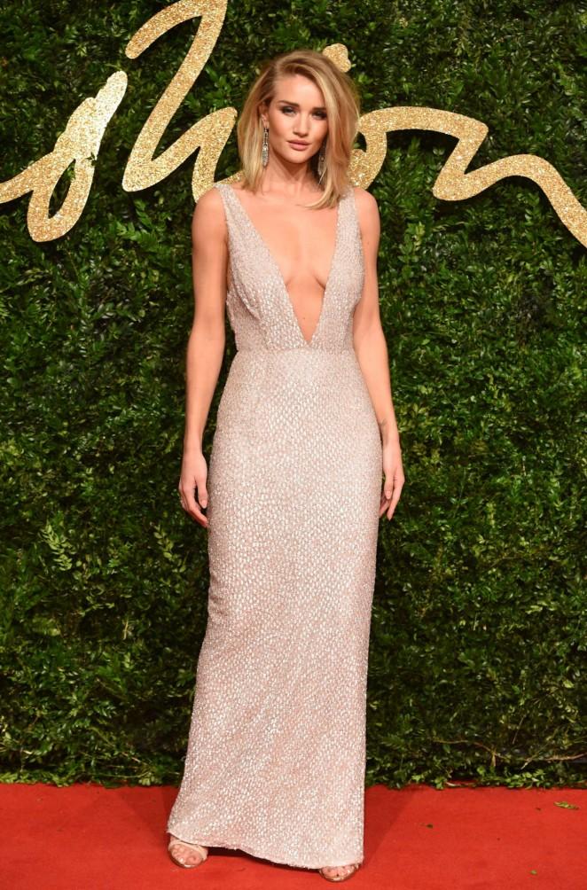 Rosie Huntington Whiteley - British Fashion Awards 2015 in London