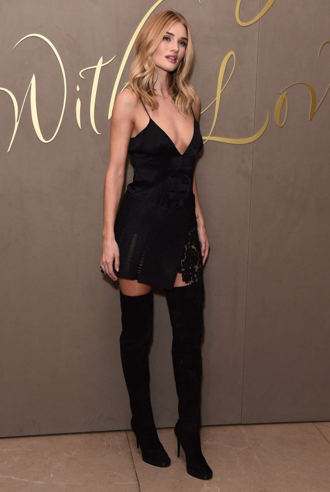 Rosie Huntington Whiteley - Burberry Festive Film Premiere in London