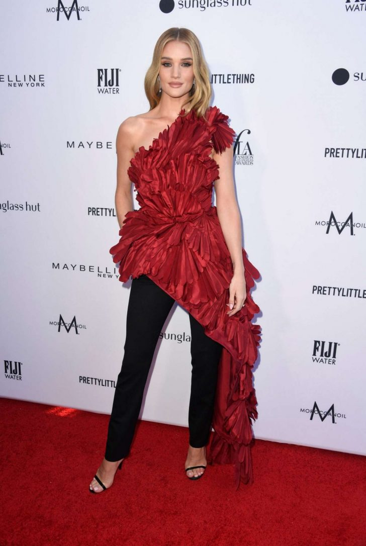 Rosie Huntington Whiteley - Daily Front Row Fashion Awards 2019 in LA